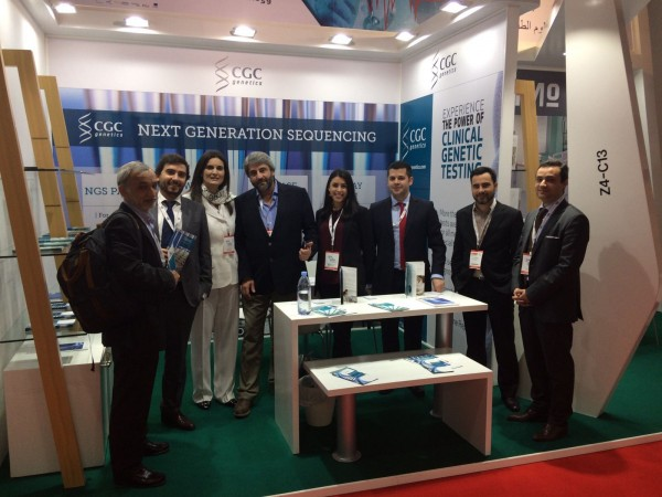 CGC Genetics na ARAB HEALTH 2017